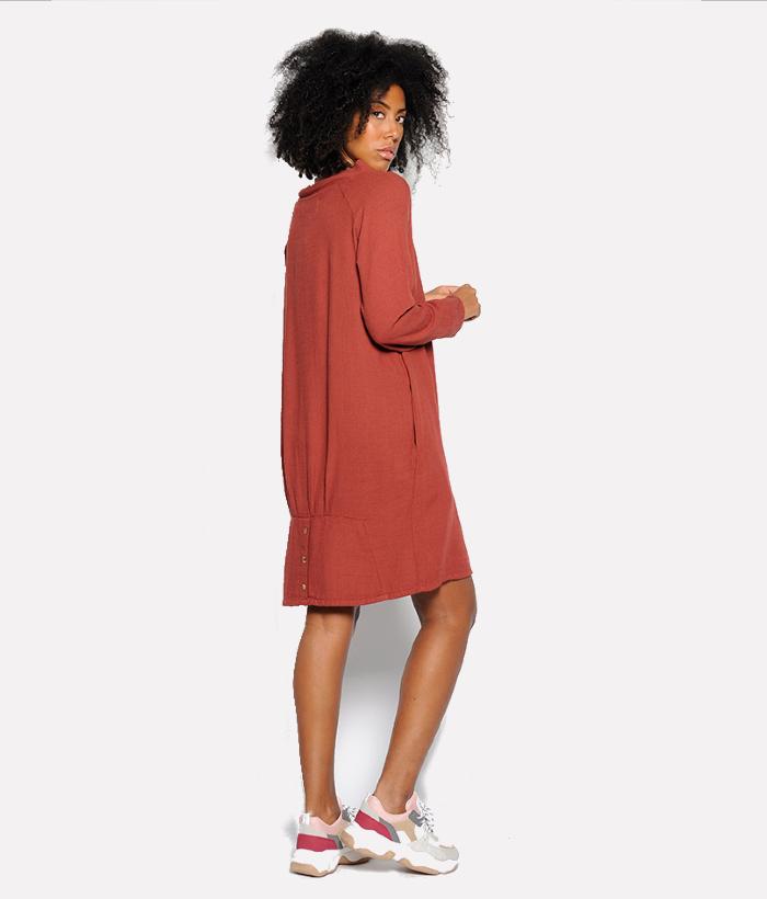 vestido teja de PAN