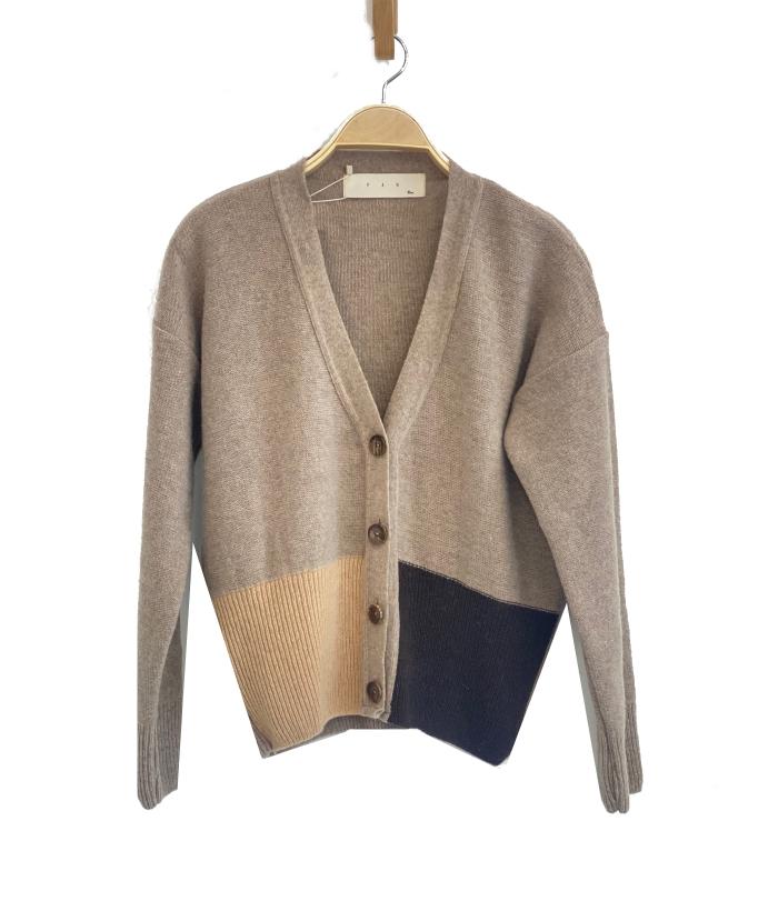 Chaqueta de lana de mujer color arena de PAN